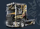 """Italeri Scania R730 V8 Topline """"Imperial"""" 1:24 #3883"""