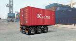Italeri Tecnokar 20' Container Trailer 1:24 #3887
