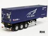 56330, 1/14 RC 40-Foot Container Semi-Trailer NYK