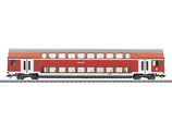 Marklin 43584 Dubbeldekkerrijtuig Voorbeeld: DABz 756, 1ste en 2de klasse, van de Deutsche Bahn AG (DB AG).