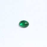 Smaragd, CaboOval, 0,31 ct.