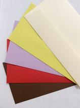 Forever gekleurde enveloppen van gerecycleerd papier