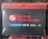 Аккумулятор 6ст - 60 General Tehnologies ULTRA низк. - оп