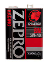 Idemitsu Zepro Racing 5w40 SN синтетическое 4л
