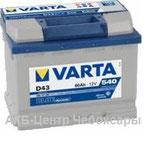 6ст - 60 (Varta) D43 BlueDynamic . 560 127 054 - пп