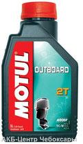 Motul Outboard Tech 2T 1л TC-W3 для водной техники полусинтетическое