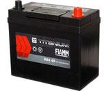 Аккумулятор 6ст - 45 (Fiamm) серия Titanium Black Asia - тонк./станд выводы оп