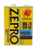 Idemitsu Zepro DIESEL DL-1 5w30 4л.