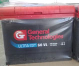 Аккумулятор 6ст - 60 General Tehnologies ULTRA - пп