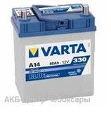 6ст - 40 (Varta) A14 Blue Dynamic тонкие выводы 540 126 033 - оп
