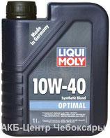 Liqui Moly Optimal 10W-40 1л полусинтетическое