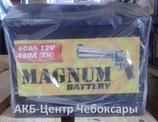 Аккумулятор 6ст - 60 (Magnum) - пп