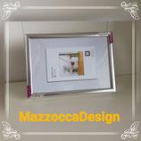 Fotorahmen Silver Classic Fuchsia