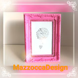 Romantic Pink Rose Gold Fotorahmen