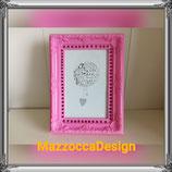 Romantic Pink Fuchsia Fotorahmen