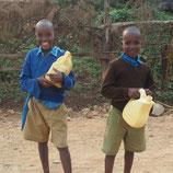 Handwaschmöglichkeit für Schulkinder