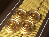 Speed Knobs, Gold for Japan Guitars Metric, Lefty, 4 Pcs.