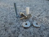 iNsert-NG, Bridge Stud/Adapter, Nickel plated, gloss (ein Paar) Art. Nr. 3116