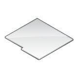 Plexiglass Panel (Integrated Slide)