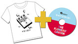 "GATOMIDI Camiseta + CD ""The flowers' cavern"""