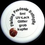 Glitter grob / kupfer
