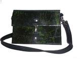 Designer Handtasche grüner Farn
