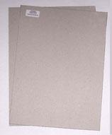 Graupappe für Ringordner  2,5 mm stark ,5 cm starker Buchrücken