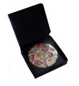 Geschenkschachtel für Buttons 59 cm, schwarz