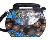 Designer Handtasche Patchwork