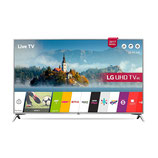 "Smart TV LG 60UJ651V 60"" Ultra HD 4K LED USB x 2 HDR Wifi Bluetooth Silberfarben"