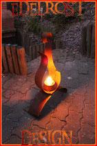 012 Edelrost Ethanol Feuerstelle