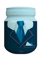 Spaarpot 'Blauw Pak'
