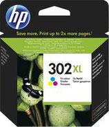 HP302XL kleur cartridge