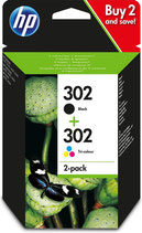 HP 302  combi cartridge