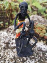 Trommel-männchen schwarz