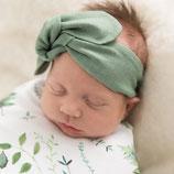 """Snuggle Hunny -Merinowolle Haarband """"OLIVE"""""""