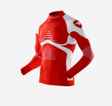 X-Bionic Shirt Long Sleeves Patriot Edition Switzerland