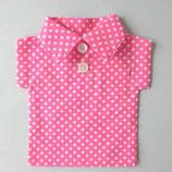 ボトルちゃん【ボタンシャツタイプ】ピンク