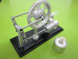 Multi Connecting Hot Air Stirling Engine ~ JA 1030