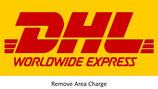 DHL Remove Area Extra Charge to worldwide