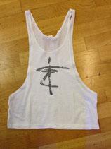 Träger-Shirt für Frauen weiss