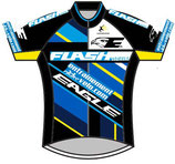 Maillot  Team entrainement-velo.com  Flash Wheels - Eagle