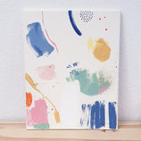 SOLD *Colour and Pieces 2* auf Leinwand