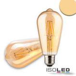E27 Vintage Line LED ST64 Birne 8W ultrawarmweiss, dimmbar
