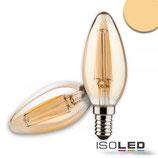 E14 Vintage Line LED Kerze 4W ultrawarmweiss, dimmbar