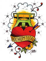 Aufklebe-Tattoos Bochum Total