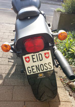 "PVC-Schild ""EID-GENOSS"" 14x18cm"