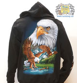 "Hoodie ""Eagle - Free Spirit"""