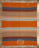 "Pueblo-Blanket ""Orange-Brown"""