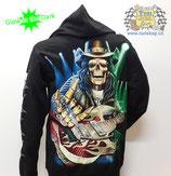 """Hoodie """"Rock'n'Roll-Skull"""""""
